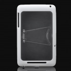 Protective PC Back Case w/ Stand for Google Nexus 7 - White