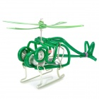WS-0801 Creative Craft Aluminum Helicopter Module - Green