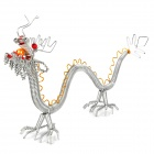 Creative Handcraft Chinese Dragon Style Model - Silver