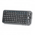 2.4GHz Mini Handheld Wireless 91-Tasten-Maus Tastatur - schwarz