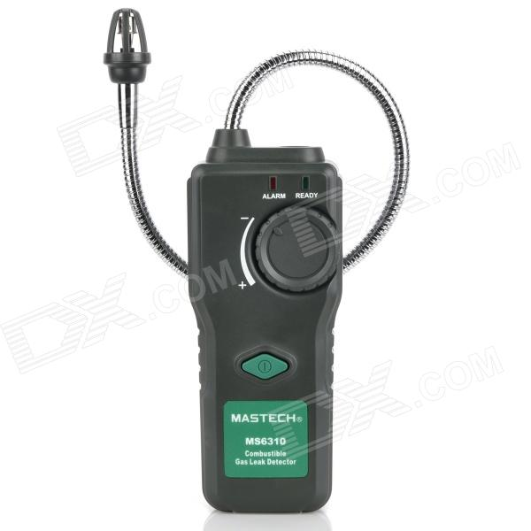 MASTECH MS6310 Combustible Handheld Gas Leak Detector - Grey (4 x AA) digital combustible gas analyzer hand held port flammable gas leak detector with sound light alarm battery