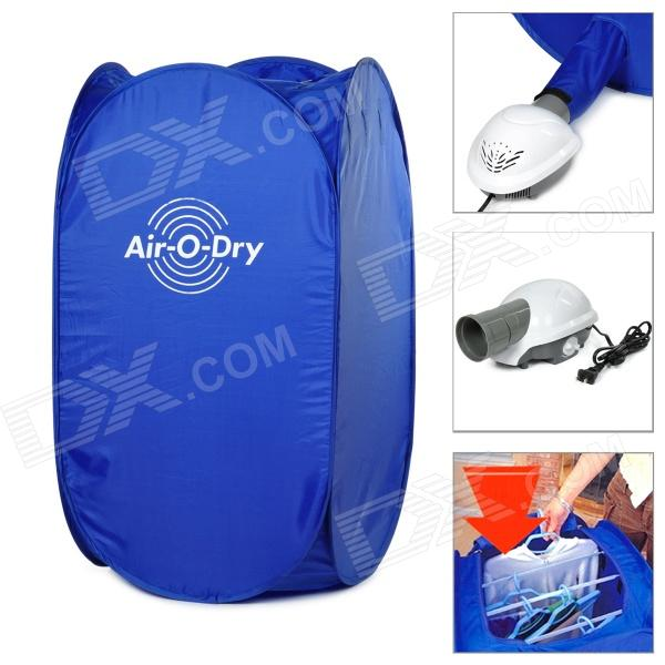 Air O Dry Outdoor Portable Clothes Dryer - Blue free shipping inflatable air blower pump 800w