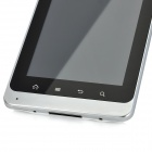 "E8 Android 2.3 GSM Tablet Cellphone w / 5.0 ""Capacitive Screen, Quad-Band, GPS et Wi-Fi-Blanc"
