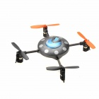 Mini Rechargeable 2.4GHz 4-CH Quad-Rotor R/C UFO - Blue
