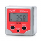 "DMI100 1.4"" LCD Screen Digital Level / Bevel Gauge Box Inclinometer"