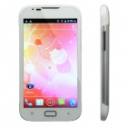 "A5 Android 4.0 WCDMA 3G Smartphone w/ 5.0"" Capacitive Screen, GPS, Wi-Fi and Dual-SIM - White"