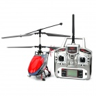 Rechargeable 2.4G 4-CH Radio Control R/C Helicopter w/ Camera / SD Card / Gyro - Red + Black + Grey