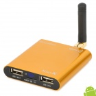 Mini IPTV MK 805 Android 4.0 Media Player w/ DDR3 1GB / 1080p / Wi-Fi / HDMI 1.3 / AV - Yellow