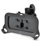 Plastic Bicycle Swivel Mount Holder for iPhone 4 - Black
