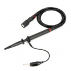 P4100 100MHz Oscilloscope Scope Clip Probe Cables - Black (120cm)