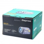 DIGIPO HDV-X1 5.0MP CMOS Digital Camera Camcorder w/ 3.0&quot; TFT / 8X Digital Zoom - Red