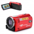 "DIGIPO HDV-X1 5.0MP CMOS Digitalkamera Camcorder w / 3,0 ""TFT / 8-fachem Digitalzoom - Rot"