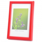 Hangle Craftwork M-BD 6-Inch 10.1 x 15.2cm Plastic Photo Frame - Red