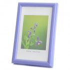 Hangle Craftwork M-BD 6-Inch 10.1 x 15.2cm Plastic Photo Frame - Violet