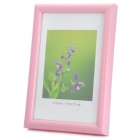 Hangle Craftwork M-BD 6-Inch 10.1 x 15.2cm Plastic Photo Frame - Pink