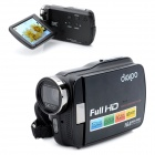"DIGIPO HDV-P35 5.0MP CMOS HD Digital Camera Camcorder w/ 3.0"" TFT / 5X Optical Zoom  - Black"
