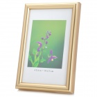 Hangle Craftwork M-BD 6-Inch 10.1 x 15.2cm Plastic Photo Frame - Golden