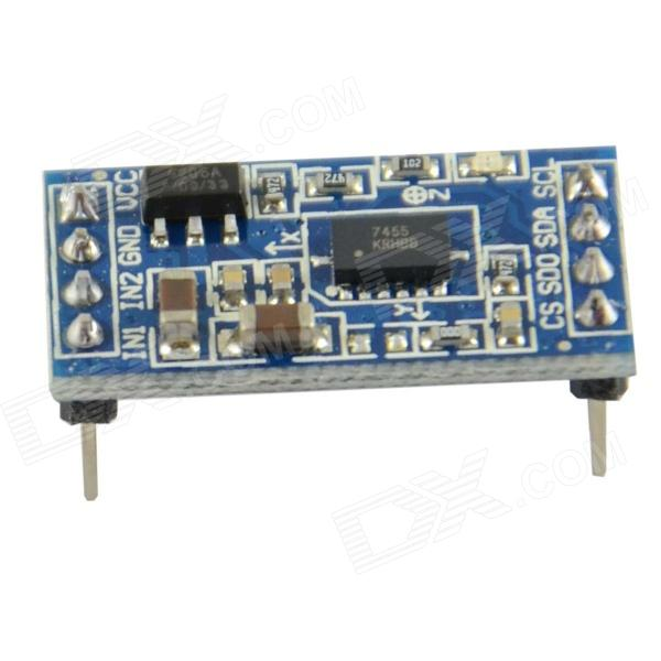 MMA7455 Digital Tilt Angle Sensor Acceleration Module I2C/SPI for Arduino acceleration of bioinformatics sequence alignment