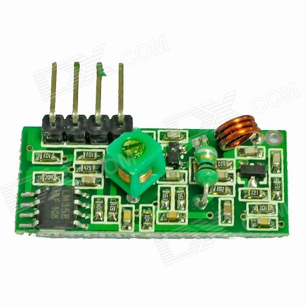 315MHz Wireless Superregeneration Receiving Module for Arduino (Works with Official Arduino Boards)