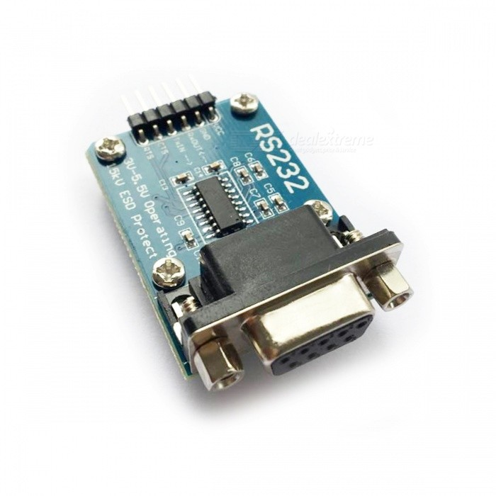 RS232 Serial Port to TTL Converter Communication Module for Arduino rs232 to rs485 passive interface converter adapter data communication serial 61516