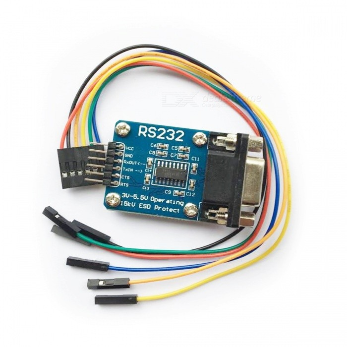 Rs serial port to ttl converter communication module