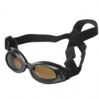 BGS-PET11 Fashion Outdoor Pet Dog Goggles UV Protection Sunglasses - Black