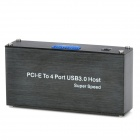 PCI-E to USB 3.0 5Gbps Portable Upgrade Kit - Black