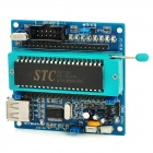 AT89S51 SCM Minimum Development Board w / STC89C51 - Blue