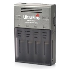 UltraFire WF-128 UK Plug Battery Charger for 18650 / 17670 / 16340 / AA / AAA / 18350