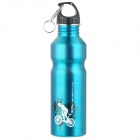 Bicycle Bike Sports Stainless Steel Water Bottle - Blue (750ml)
