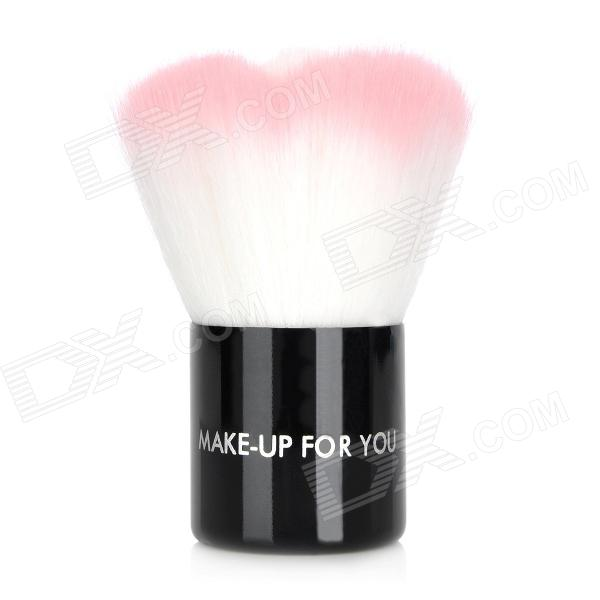 Professional Cosmetic Make-Up Foundation Soft Brush - Black + Pink