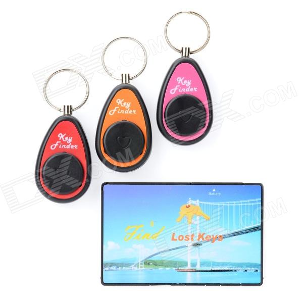 FK-383 Electronic Key Transmitter w/ Receivers Finder - Orange + More (4 PCS) electronic remote rf wireless key finder w 4 receivers black 1 x cr2032