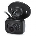 "1/4"" CMOS Surveillance Security Camera w/ 6-LED IR Night Vision - Black (PAL)"