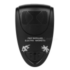Ultrasonic Mosquito Repellent Pest Insect Repeller - Black