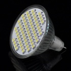 MR16 GU5.3 4W 60x3528 SMD LED White Light Spotlight (AC 85~265V)