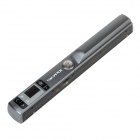 "TSN440 1.0"" LCD Handheld Handy A4 Color Scanner w/ TF Slot - Dark Grey (2 x AA)"