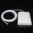 Indoor Flat Style IEEE802.11n SMA Antenna -White (7-10dBi)