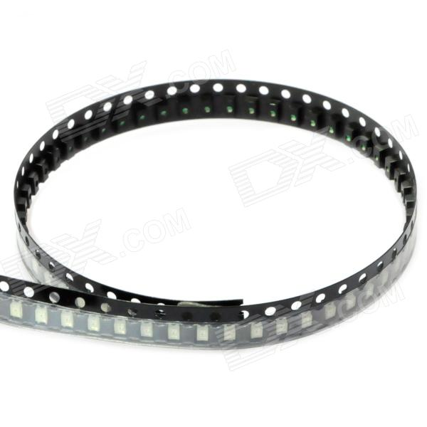 150mcd 490nm Emerald Green SMD 1206 LED Module Strip (3~3.2V/ 100 PCS)