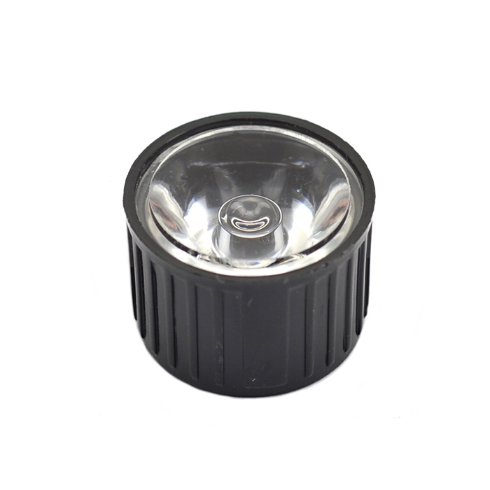 60 Degree Angle LED Optical Lens - Black
