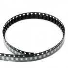 Green 100-SMD 1206 LED Emitters Strip (490~560nm / 40mcd)