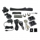 Sports Diving 1.1'' LCD 5.0M CMOS HD 1080P Wide Angle Video Recorder Camcorder w/ TF / USB - Grey