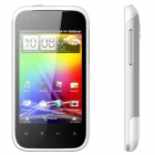 """STAR G21 Android 4.0 WCDMA Barphone w/ 4.7"""" Capacitive Screen, GPS, Wi-Fi and Dual-SIM - White"""