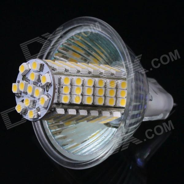 mr16 gu5 3 5w 338lm 102 smd 3528 led warm white light bulb. Black Bedroom Furniture Sets. Home Design Ideas