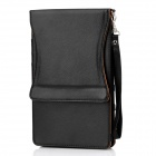 Protective PU Leather Case w/ Button Closure for Google Nexus 7 - Black