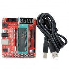 DIY 51/AVR Development Board - Red