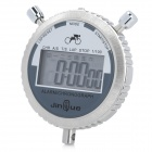 E7-2II 7-in-1 Multifunction Quartz Digital Alarm/ Chronograph / Time Stopwatch - Silver