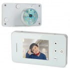 "2.8"" LCD 300KP Digital Peephole Viewer - White"