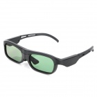 Universal USB Rechargeable 3D Active Shutter Glasses for DLP Projectors - Black