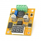 Adjustable DC 7~35V to DC 3~24V Voltage Step Down Transformer Module - Yellow + Black