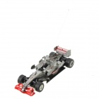 Rechargeable 2-CH Radio Control R/C F1 Racing Car - Grey